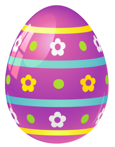 Purple_Easter_Egg_with_Flowers_PNG_Picture